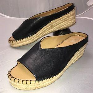 Franco Sarto PINE Espadrille Wedge Sandal Size 9